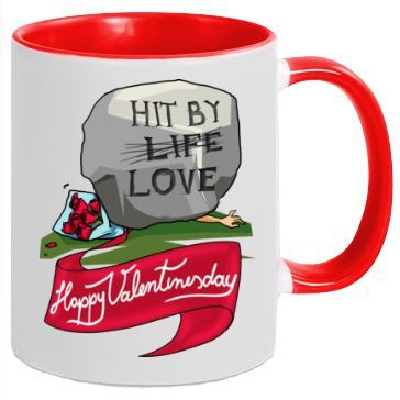 Hit By Love - Tasse