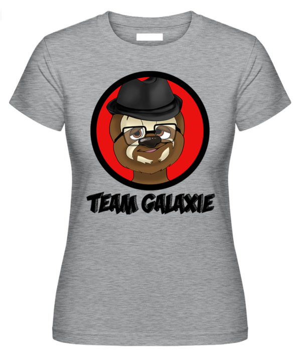 Frauen Shirt Team Galaxie (Frontdruck)