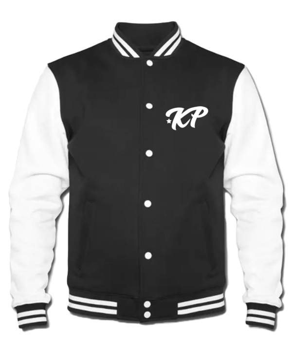 KPentertainment Collegejacke Logo Kurz