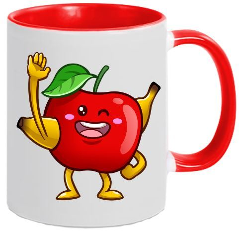 Two-Tone Tasse BanApfel Emote