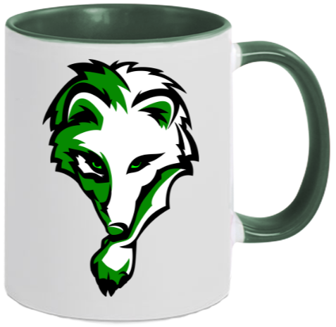 Two-Tone Tasse WOLF