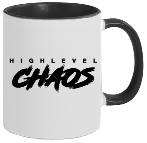 Two-Tone Tasse HIGHLEVEL CHAOS