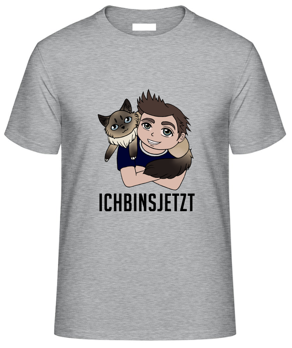 FAIR WEAR Unisex T-Shirt ICHBINSJETZT GROSS