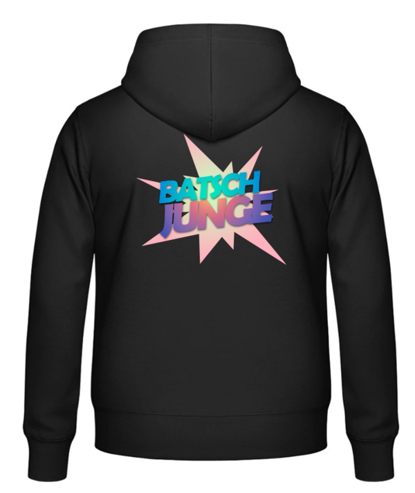 FAIR WEAR Unisex Hoodie BATSCH Rückendruck
