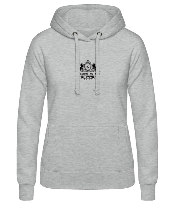 Damen Hoodie Logo Welcome to the Empire